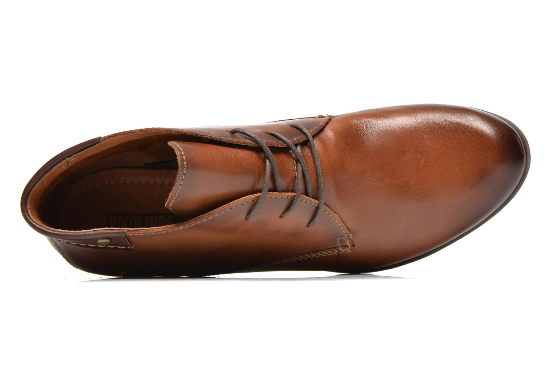 Chaussures à lacets Pikolinos ROTTERDAM 902-8538 Marron vue gauche
