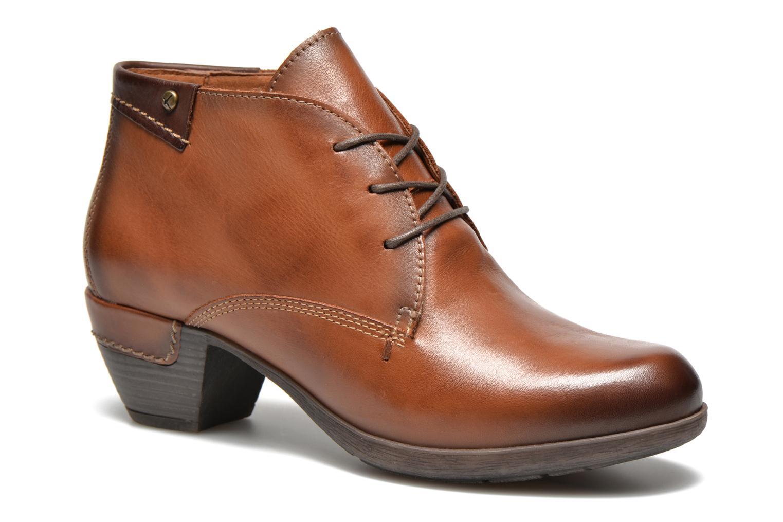 Chaussures à lacets Pikolinos ROTTERDAM 902-8538 Marron vue détail/paire