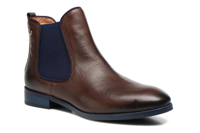 Boots en enkellaarsjes Pikolinos Royal W4D-8637 Bruin detail
