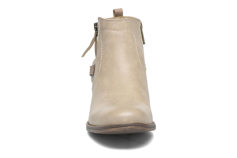 Bottines et boots Mustang shoes Isauris Beige vue portées chaussures