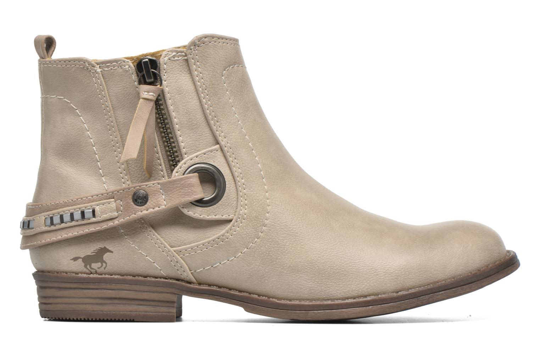 Bottines et boots Mustang shoes Isauris Beige vue derrière
