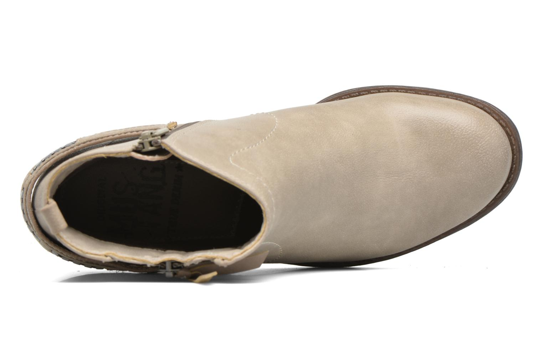 Bottines et boots Mustang shoes Isauris Beige vue gauche