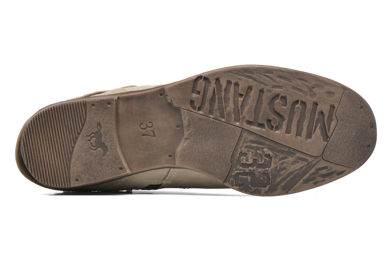 Bottines et boots Mustang shoes Isauris Beige vue haut