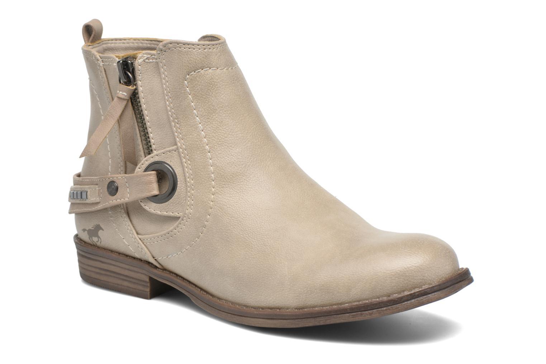 Bottines et boots Mustang shoes Isauris Beige vue détail/paire