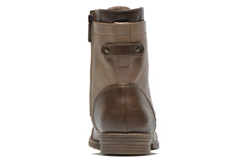 Bottines et boots Mustang shoes Toldil Marron vue droite