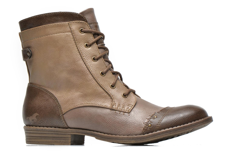 Bottines et boots Mustang shoes Toldil Marron vue derrière
