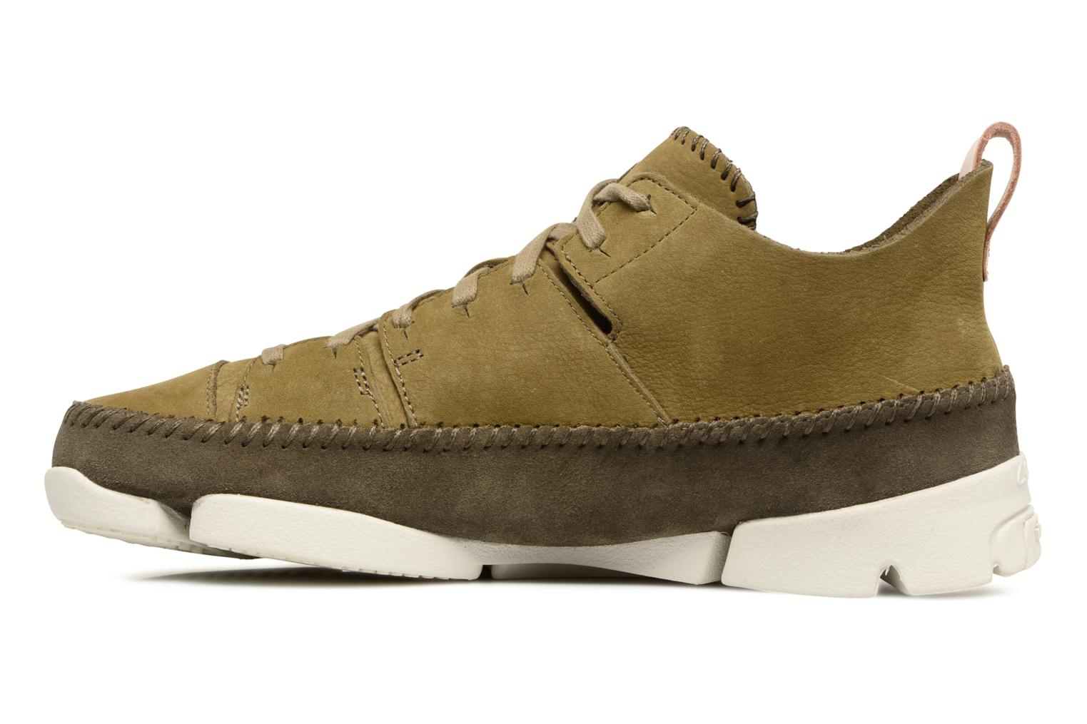 Baskets Clarks Originals Trigenic Flex M Vert vue face