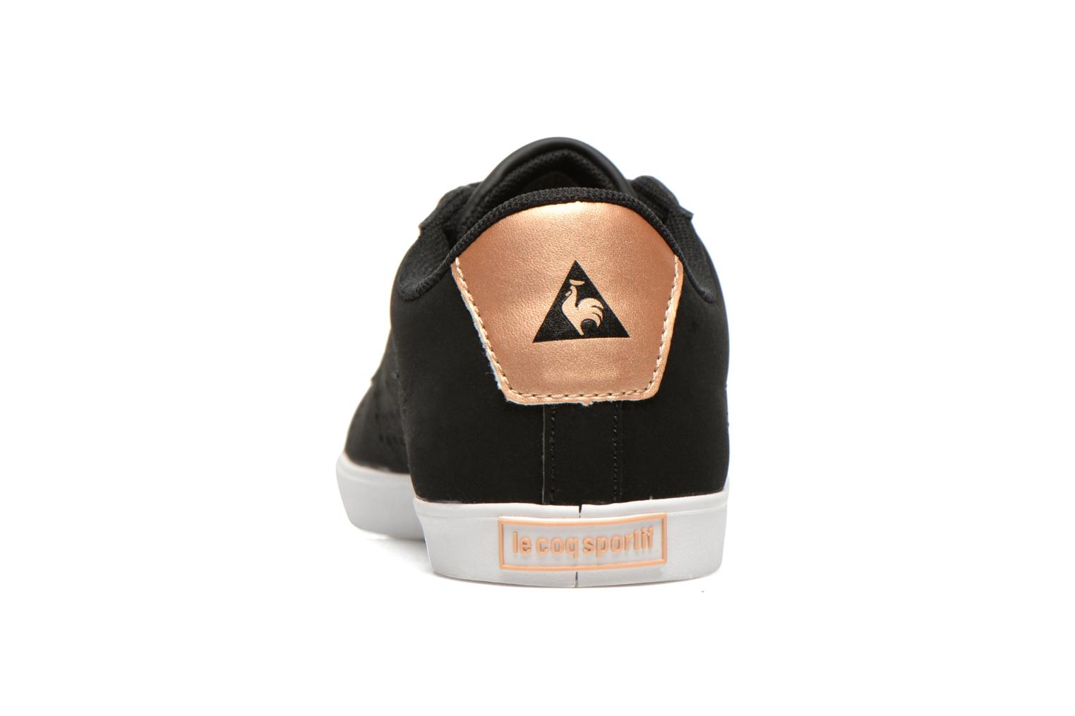Agate Lo Syn Nubuck Black/Rose Gold