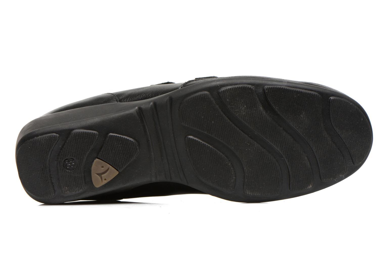 Baskets UMO Confort Diane Noir vue haut