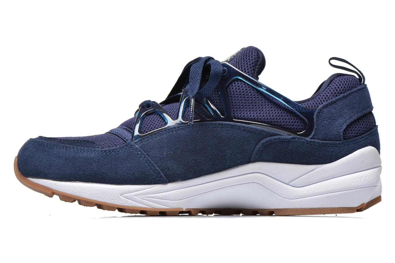 Sneaker Nike Air Huarache Light blau ansicht von vorne