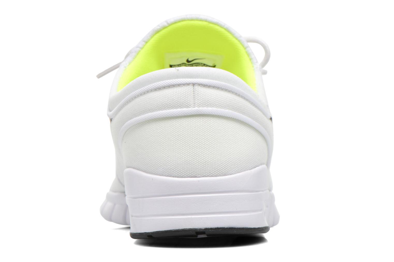 Baskets Nike Stefan Janoski Max Blanc vue droite