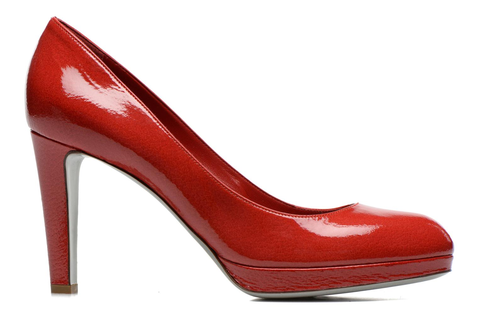 High heels Sergio Rossi Ambra Red back view