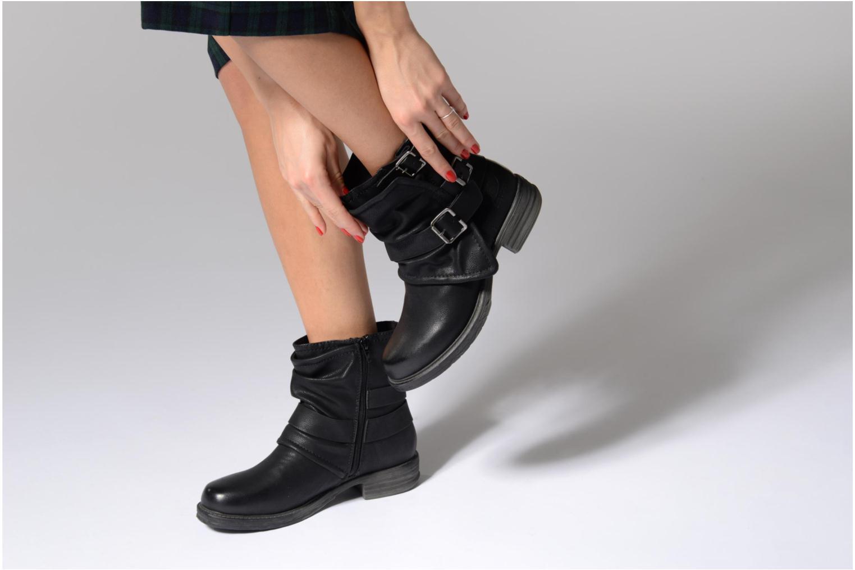 Bottines et boots Dockers Trice Noir vue bas / vue portée sac