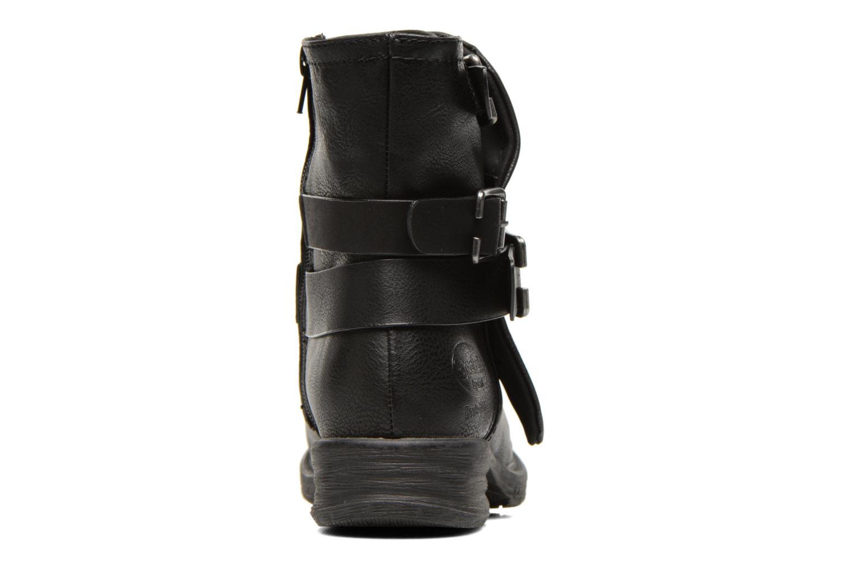 Bottines et boots Dockers Trice Noir vue droite