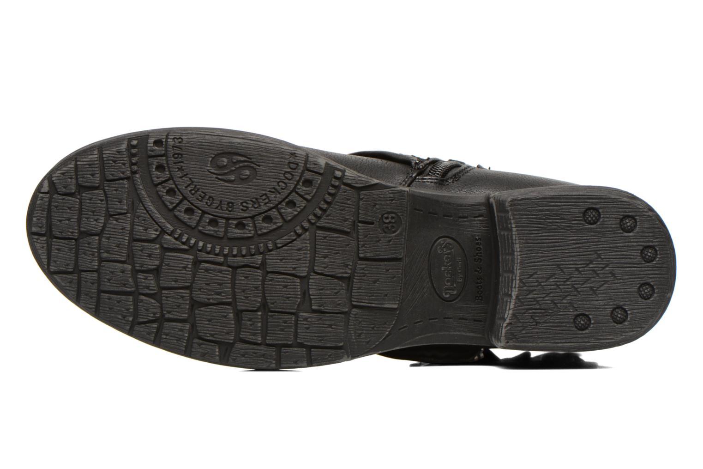 Bottines et boots Dockers Trice Noir vue haut