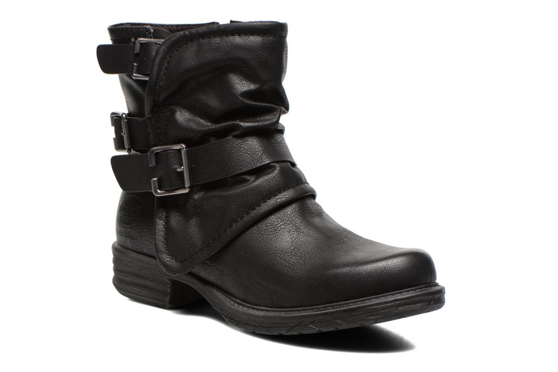 Bottines et boots Dockers Trice Noir vue détail/paire