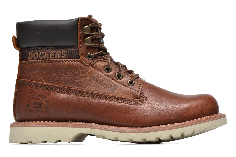Bottines et boots Dockers Olivier Marron vue derrière