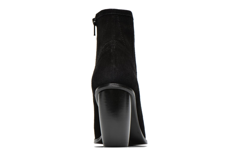 Suede Pioneer Bootie Black 001