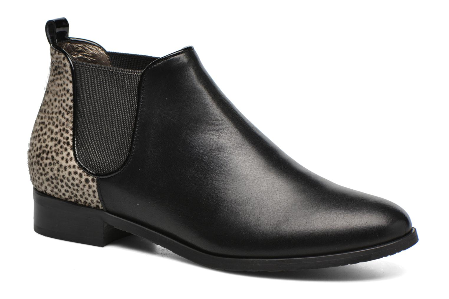 Ankle boots HE Spring Eva Black detailed view/ Pair view