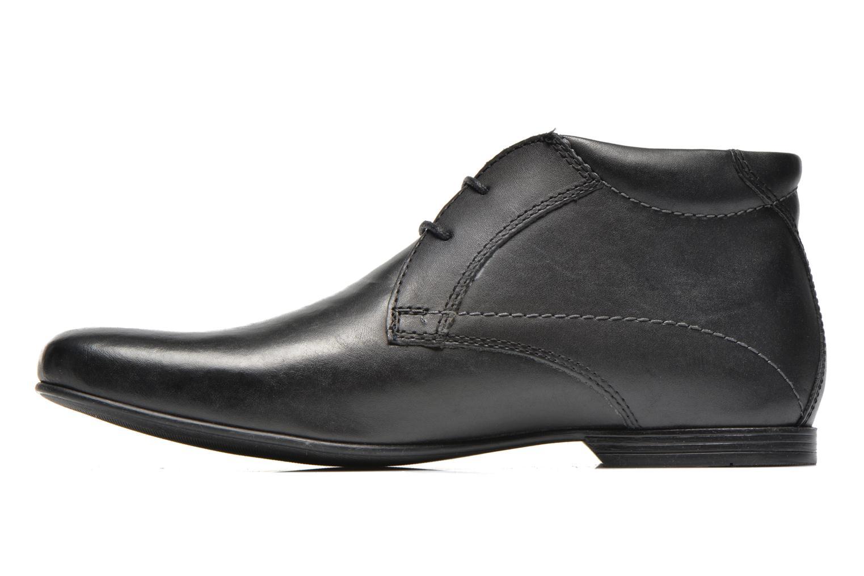 Chaussures à lacets Base London Orbit 2 Noir vue face