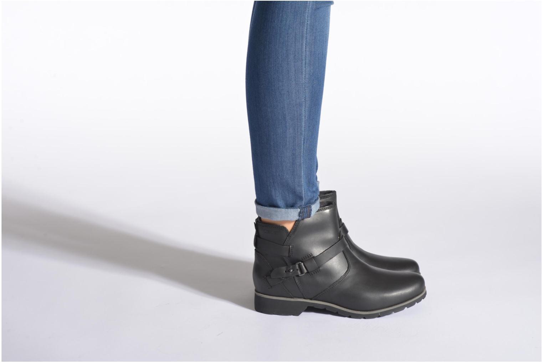 Bottines et boots Teva Delavina Ankle Marron vue bas / vue portée sac