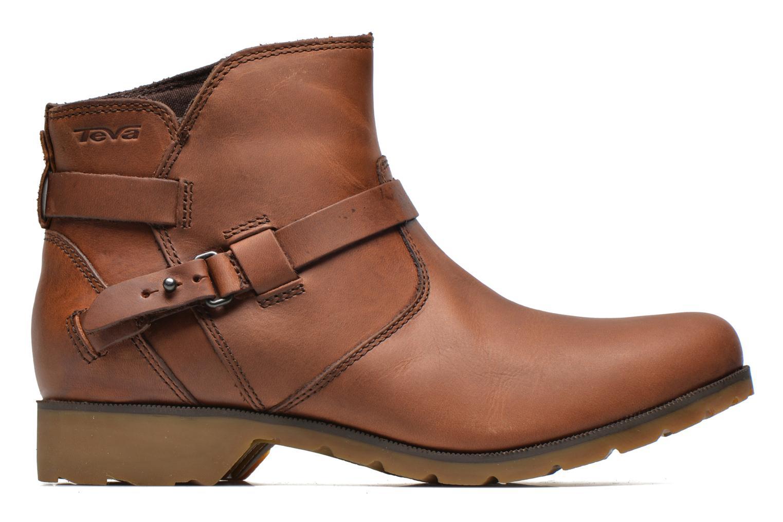 Bottines et boots Teva Delavina Ankle Marron vue derrière