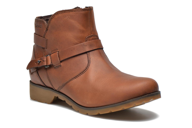 Bottines et boots Teva Delavina Ankle Marron vue détail/paire