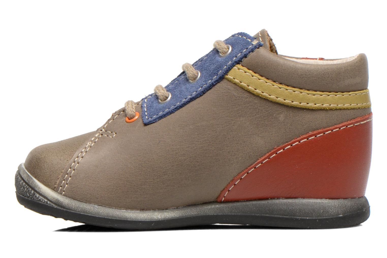 Ankle boots Bopy Zalaska Grey front view