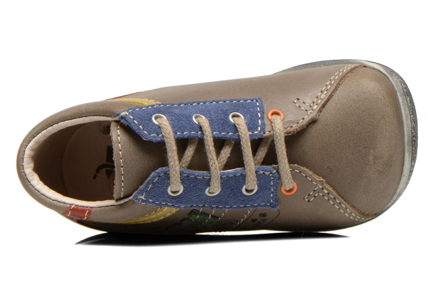 Ankle boots Bopy Zalaska Grey view from the left