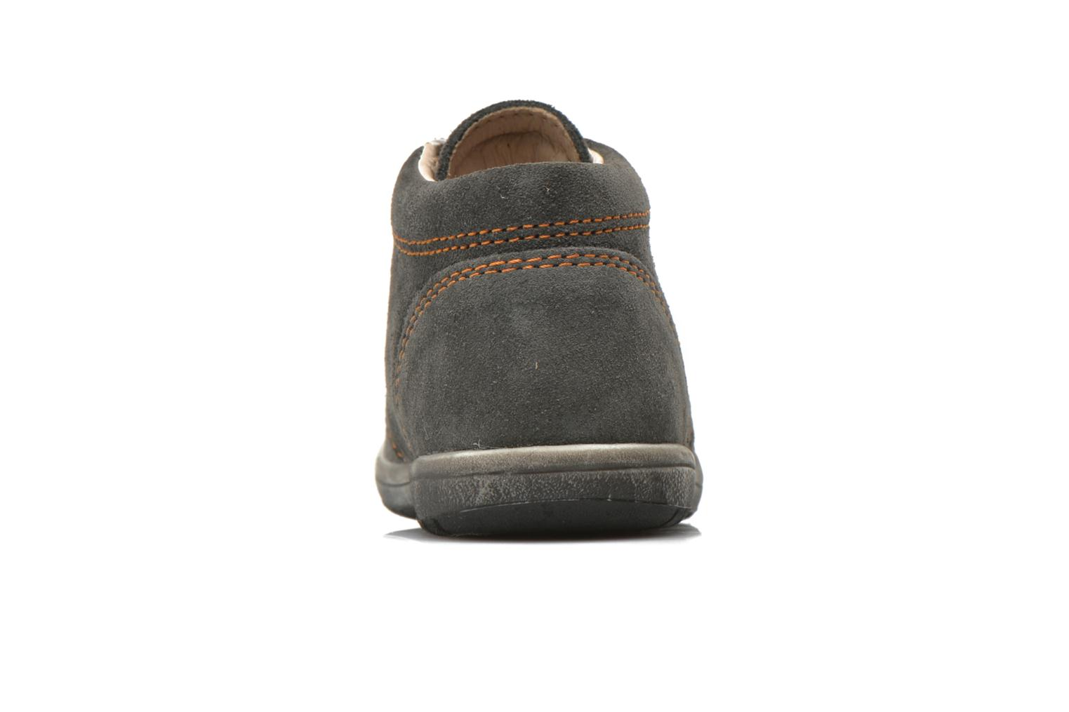 Ankle boots Bopy Zarcos Grey view from the right
