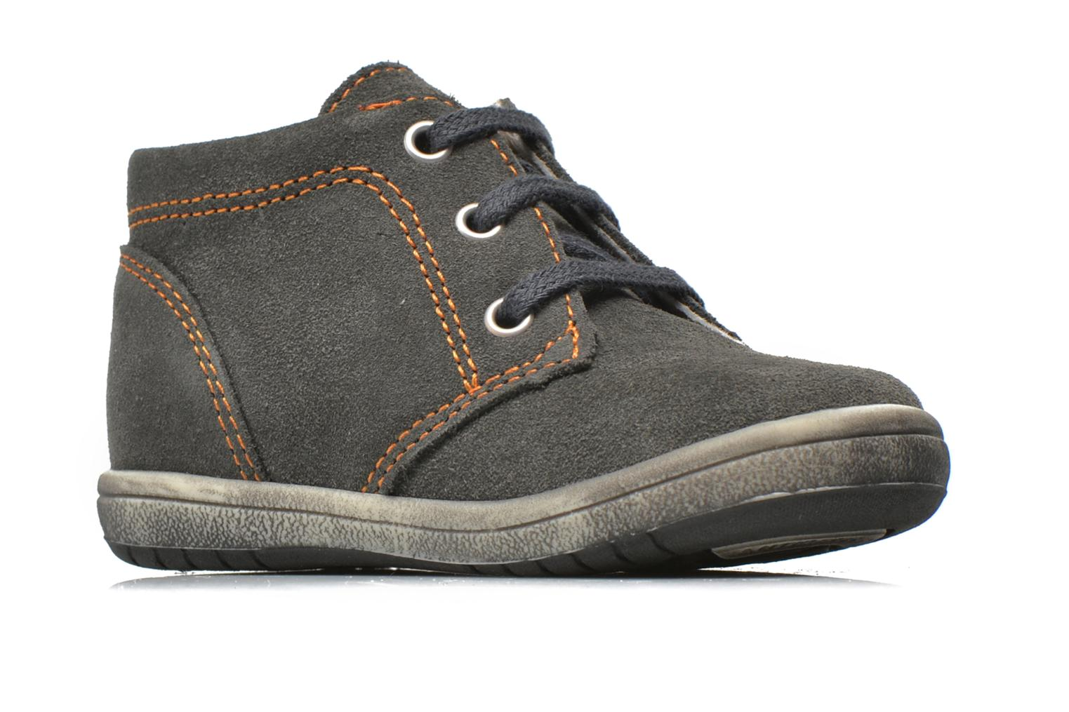 Ankle boots Bopy Zarcos Grey back view