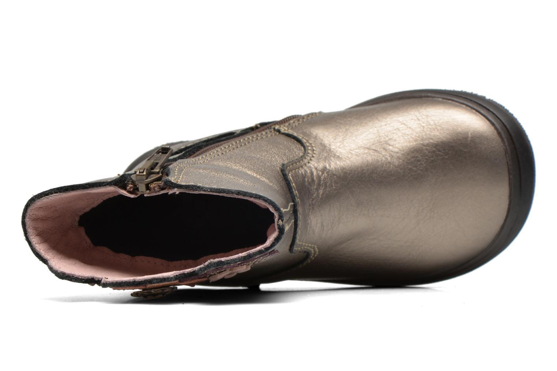 Bottes Bopy Bao Or et bronze vue gauche