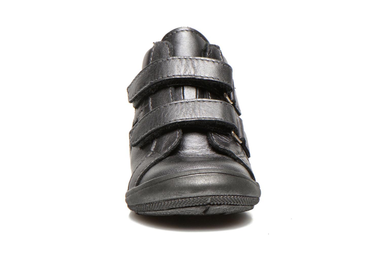 Chaussures à scratch Bopy Batuvel Gris vue portées chaussures