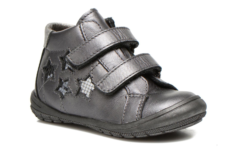 Chaussures à scratch Bopy Batuvel Gris vue détail/paire