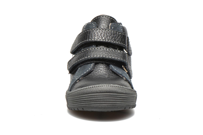 Chaussures à scratch Bopy Betic Noir vue portées chaussures