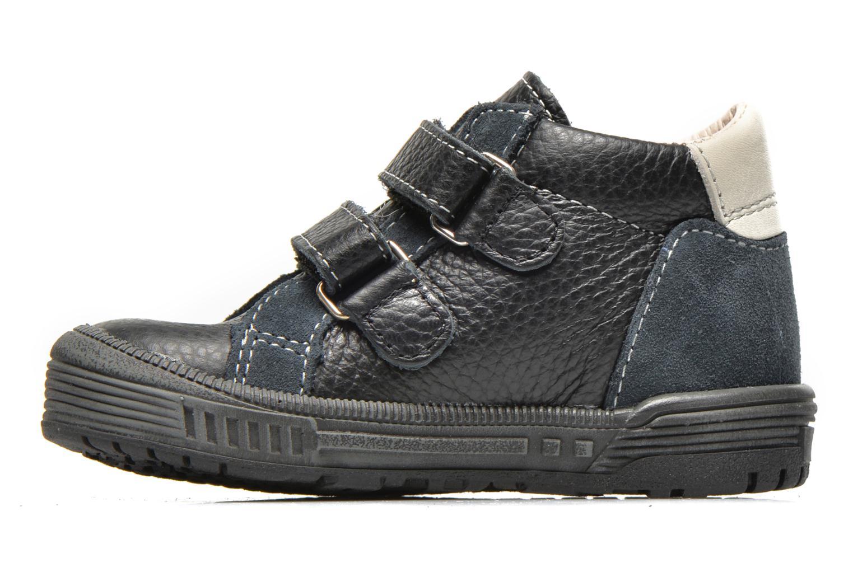 Chaussures à scratch Bopy Betic Noir vue face