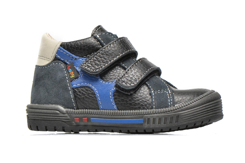 Schoenen met klitteband Bopy Betic Zwart achterkant