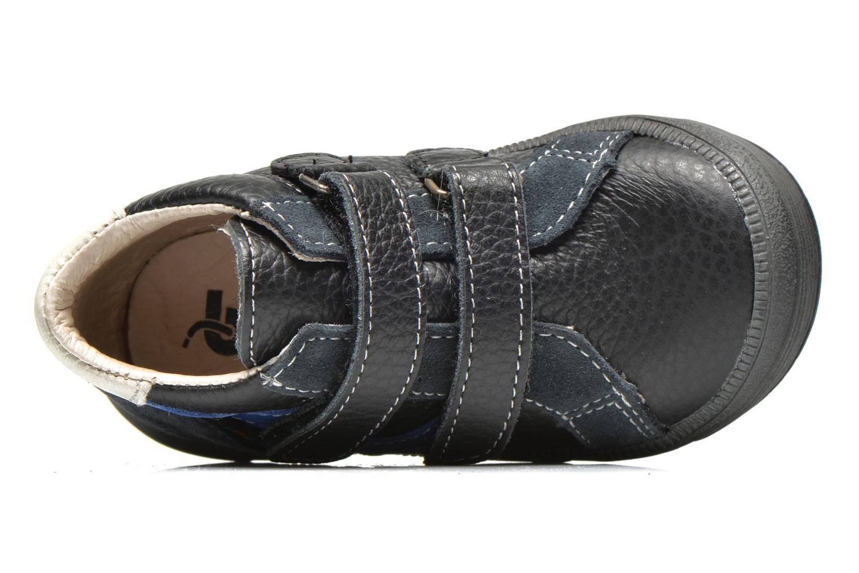 Schoenen met klitteband Bopy Betic Zwart links