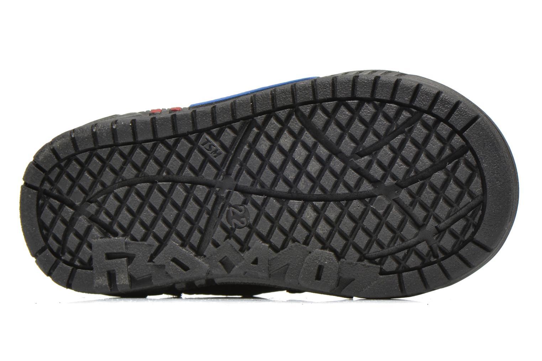 Chaussures à scratch Bopy Betic Noir vue haut