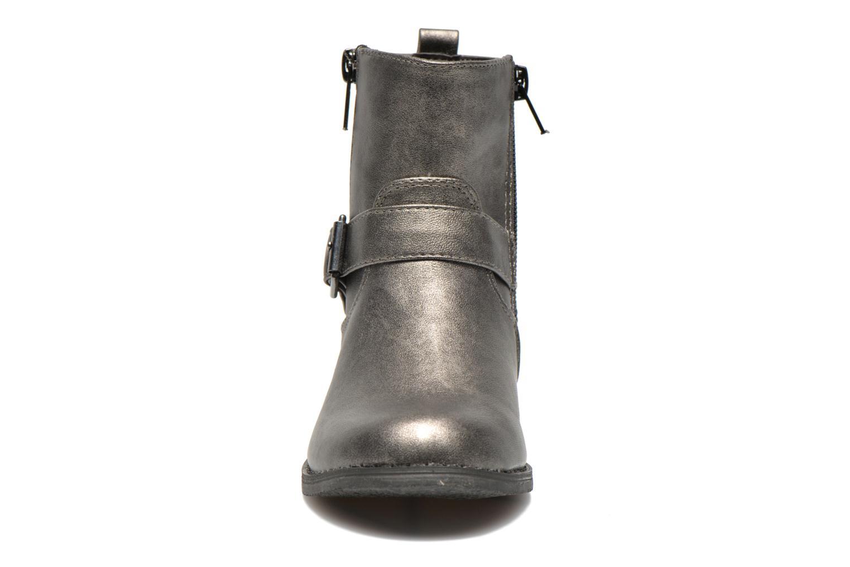 Bottes Bopy Cheraz Argent vue portées chaussures