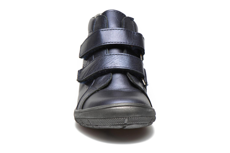 Chaussures à scratch Bopy Satuvel Bleu vue portées chaussures