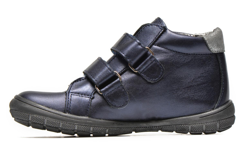 Chaussures à scratch Bopy Satuvel Bleu vue face
