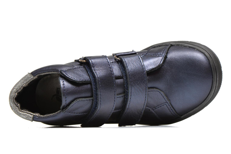 Chaussures à scratch Bopy Satuvel Bleu vue gauche
