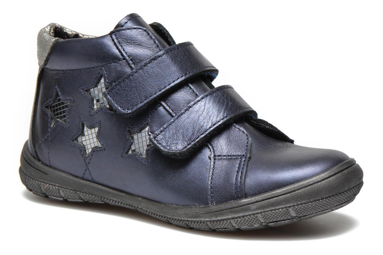 Chaussures à scratch Bopy Satuvel Bleu vue détail/paire