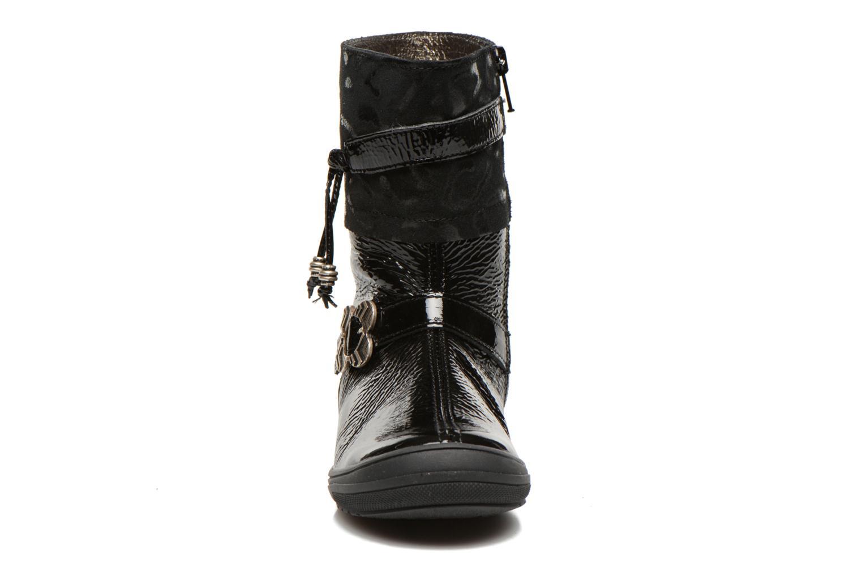 Bottes Bopy Souris Noir vue portées chaussures