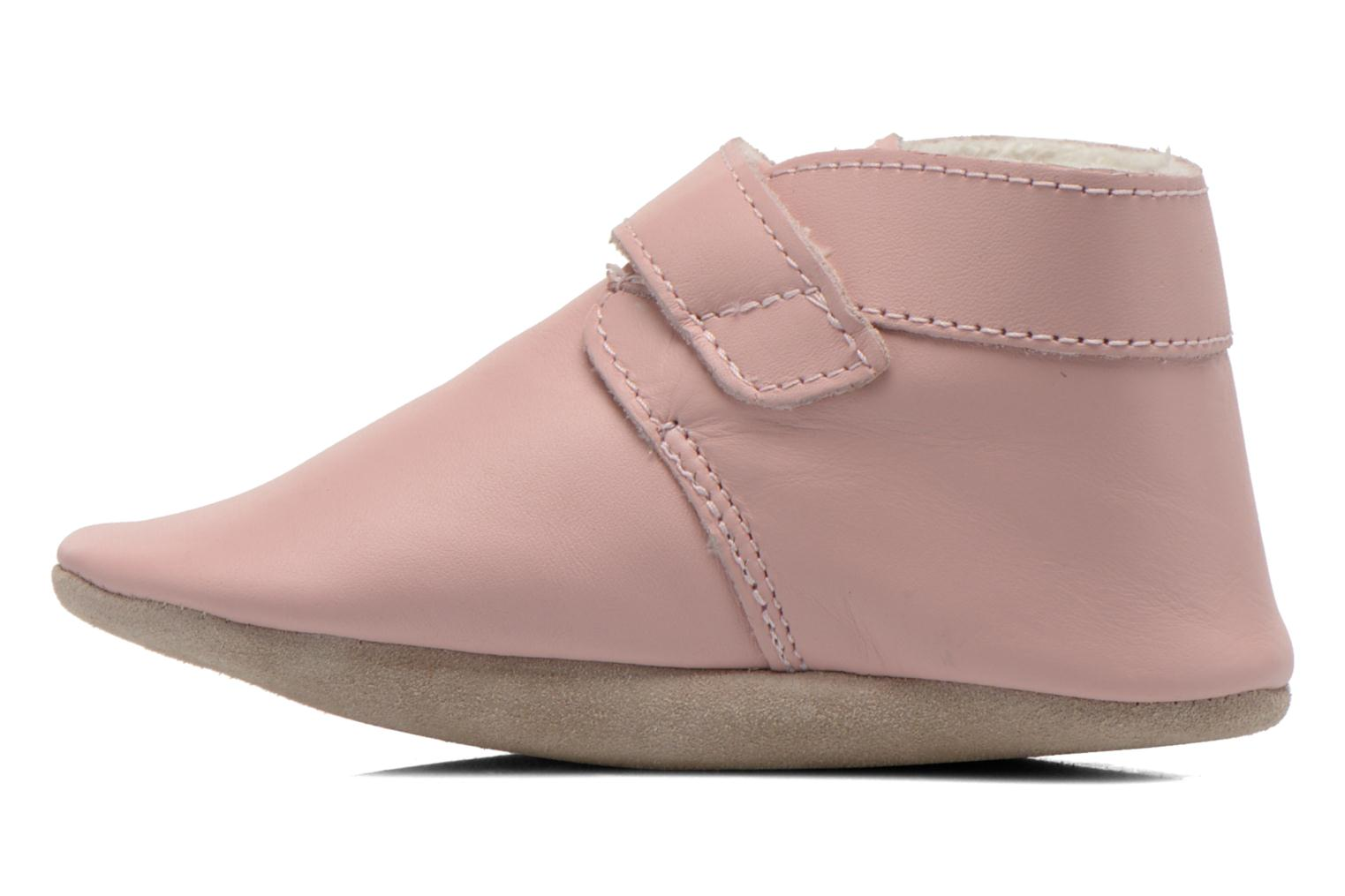 Chaussons Robeez Pole Nord Rose vue face