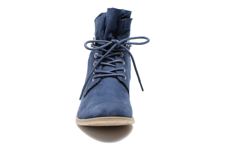 Bottines et boots Marco Tozzi Flora Bleu vue portées chaussures
