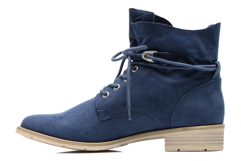 Bottines et boots Marco Tozzi Flora Bleu vue face