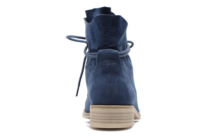 Bottines et boots Marco Tozzi Flora Bleu vue droite