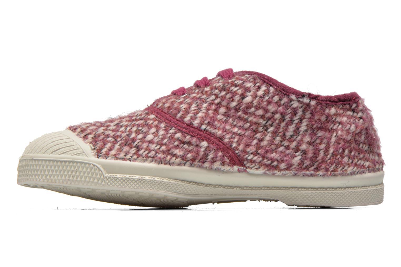 Sneaker Bensimon Tennis Girly Tweed E rosa ansicht von vorne